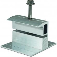 Flat Roof End Clamp (Short side) 34-42