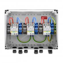HISbox DC Combiner 1000V, 3 MPPT, IN2/OUT1