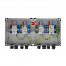 HISbox DC Combiner 1000V, 4MPPT, IN2/OUT2