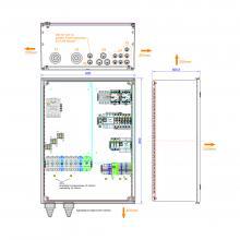 enwitec Netzumschaltbox SMA SI 3P 72kVA
