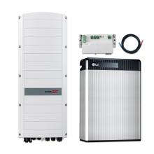 LG Chem RESU13 + SolarEdge SE8K RWS 48V